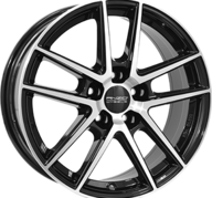 "16"" ANZIO SPLIT - Gloss Black / Polished 6,5x16 - ET38"