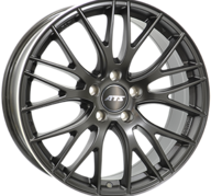 "17"" ATS PERFEKTION - Dull Black / Polished 8x17 - ET40"