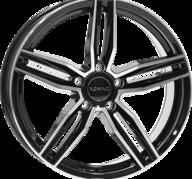 "18"" ROMAC VENOM - Gloss Black / Polished 8x18 - ET45"