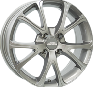"17"" INTER ACTION PULSAR - Gloss Gray 7x17 - ET40"