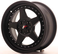 "16"" JAPAN RACING JR6 MATT BLACK"