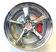 "4 st. 20"" Victor Turismo - Chrome - 5x130 - 8,5x20 - ET45 - Nav 71,6"