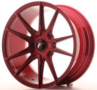 "18"" JAPAN RACING JR21 PLATINUM RED"