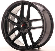 "20"" JAPAN RACING JR25 GLOSSY BLACK"