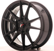"17"" JAPAN RACING JR21 GLOSSY BLACK"