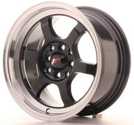 "15"" JAPAN RACING JR12 GLOSSY BLACK"
