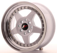 "15"" JAPAN RACING JR6 WHITE"