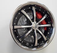 "17"" RS Futura - Black polish"