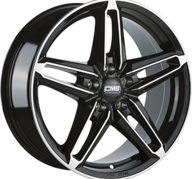 "17"" CMS C14 - Gloss Black / Polished 7,5x17 - ET45"
