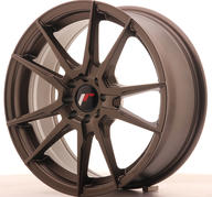 "17"" JAPAN RACING JR21 MATT BRONZE"