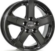 "16"" FOX VIPER - Glossy Black 6,5x16 - ET50"