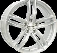 """17"""" MONACO RR8M - Silver 7,5x17 - ET45"""