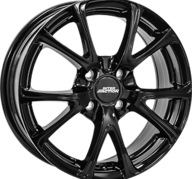 "17"" INTER ACTION PULSAR - Glossy Black 7x17 - ET45"