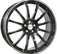 "22"" MONACO MASSENET - Gloss Black / Polished 9,5x22 - ET40"