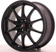 "17"" JAPAN RACING JR5 MATT BLACK"