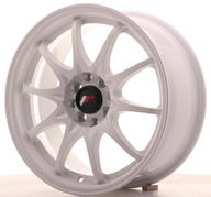 "16"" JAPAN RACING JR5 WHITE"