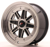 "15"" JAPAN RACING JR31 BLACK MACHINED"