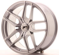 "19"" JAPAN RACING JR25 SILVER MACHINED"