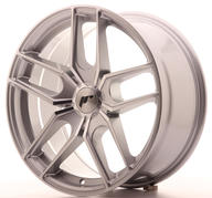 "18"" JAPAN RACING JR25 SILVER MACHINED"