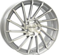 "19"" MONACO TURBINE - Light Gray Polished 8,5x19 - ET45"