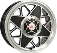 "16"" MILLE MIGLIA MM500 - Gloss Black / Polished 6,5x16 - ET37"