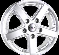 """16"""" FOX VIPER - Silver 6,5x16 - ET50"""