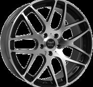 "19"" SOLEIL LXM-1 - Gloss Black / Polished 8,5x19 - ET45"