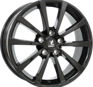 "17"" IT WHEELS ALICE - Glossy Black 7x17 - ET40"