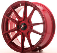 "17"" JAPAN RACING JR21 PLATINUM RED"