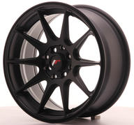 "16"" JAPAN RACING JR11 FLAT BLACK"
