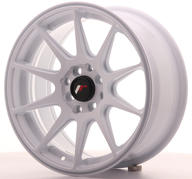 "16"" JAPAN RACING JR11 WHITE"