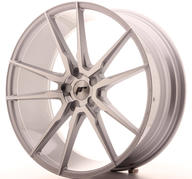 "22"" JAPAN RACING JR21 MACHINED SILVER"