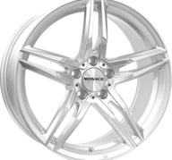 "19"" MONACO GP1 - Silver 8x19 - ET45"