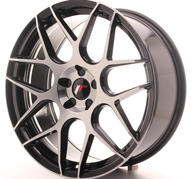 "20"" JAPAN RACING JR18 GLOSSY BLACK"