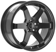 "18"" 1AV WHEELS - ZX6 - SATIN BLACK"