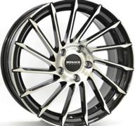 "18"" MONACO TURBINE - Gloss Black / Polished 8x18 - ET35"