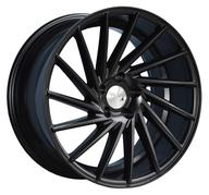 "18"" 1AV WHEELS - ZX1 - SATIN BLACK - LEFT/RIGHT"