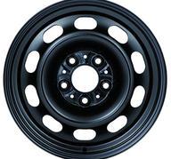 """16"""" KRONPRINZ STEEL STAAL - Black 6,5x16 - ET33"""