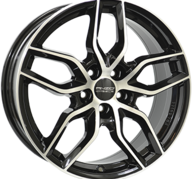 "16"" ANZIO SPARK - Gloss Black / Polished 6,5x16 - ET50"