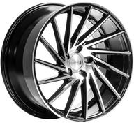 "20"" 1AV WHEELS - ZX1 - GLOSSY BLACK POLISHED FACE - LEFT/RIGHT"