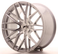 "21"" JAPAN RACING JR28 SILVER MACHINED"