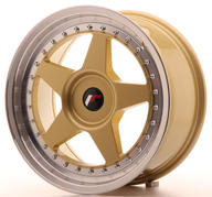 "17"" JAPAN RACING JR6 GOLD"