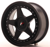 "17"" JAPAN RACING JR6 MATT BLACK"