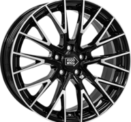 "17"" MILLE MIGLIA 1009 - Gloss Black / Polished 8x17 - ET40"