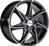 "17"" RONAL R51 - Gloss Black / Polished 8x17 - ET40"