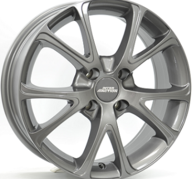 "17"" INTER ACTION PULSAR - Gloss Gray 7x17 - ET45"