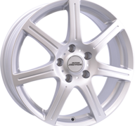 "17"" INTER ACTION SIRIUS - Silver 7x17 - ET25"