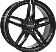 "18"" MONACO GP1 - Glossy Black 8x18 - ET45"