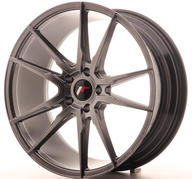 "20"" JAPAN RACING JR21 HYPER BLACK"