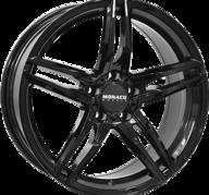 "18"" MONACO GP1 - Glossy Black 8x18 - ET30"